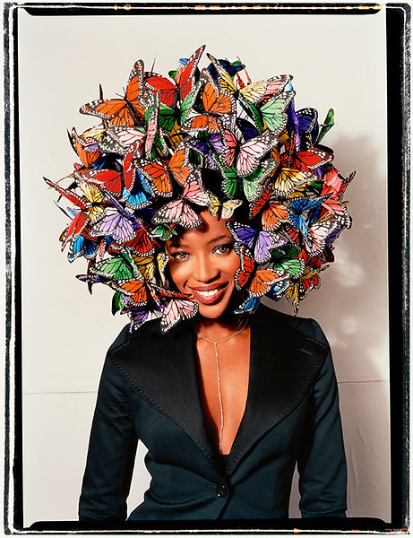 David LaChapelle, Untitled (Naomi Campbell: Butterflies), 2003