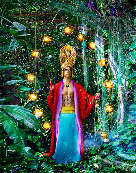 David LaChapelle, Beautiful Rituals in Nature's Cathedral, 2015