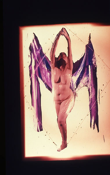 David LaChapelle, Untitled (Somewhere Better: Nude Female), 1989