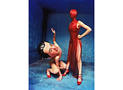 David LaChapelle, Standing Ego, Crouching Fear, 1998
