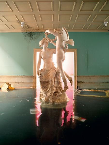 David LaChapelle, After the Deluge: Statue, 2007