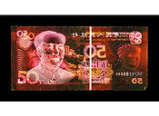 David LaChapelle, Negative Currency: 50 Yuan Used As Negative, 1990-2017