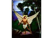 David LaChapelle, Archangel Uriel,1985