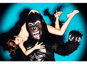 David LaChapelle, Monkey See, Monkey Do, 2001