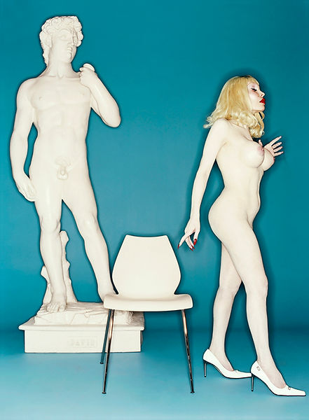 David LaChapelle, David and Amanda, 2001