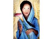David LaChapelle, Mother Teresa at Age Six, 1985