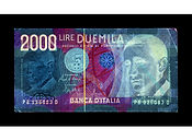 David LaChapelle, Negative Currency: 2000 Lira Used As Negative, 2010