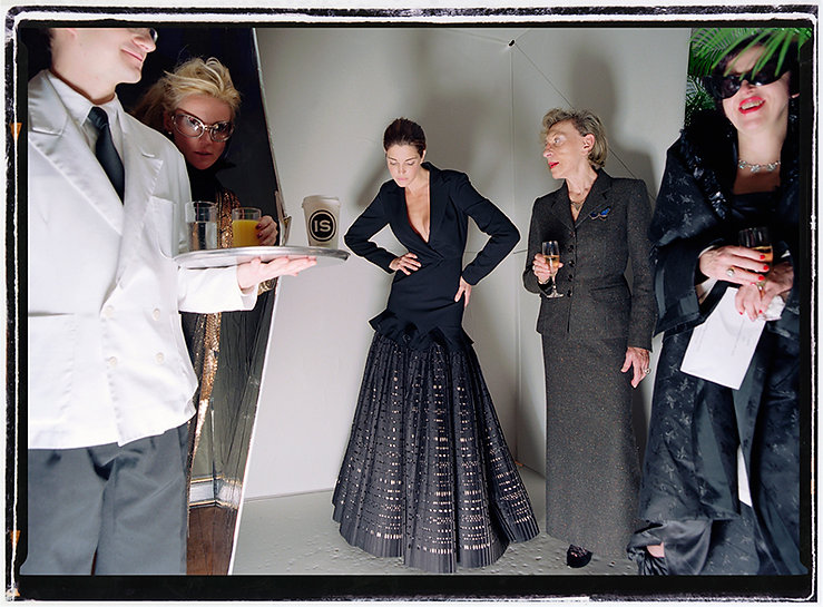 David LaChapelle, Untitled (Daphne Guinness & Isabella Blow), 2003