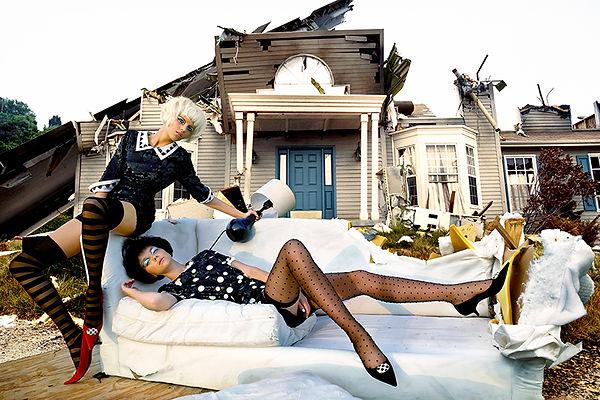 David LaChapelle, Untitled (Sofa), 2005