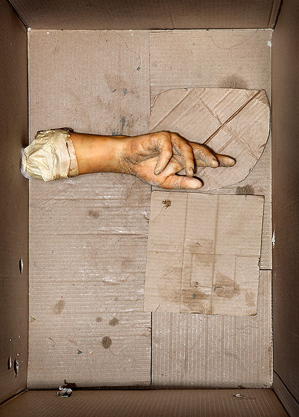 David LaChapele, Still Life: Left Hand, 2009-2012