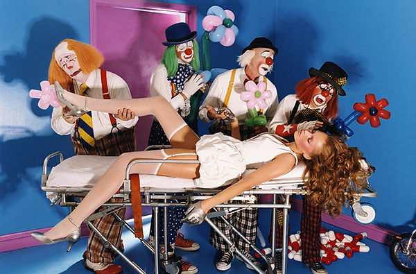 David LaChapelle, Dear Doctor, I've Read Your Paly, 2004