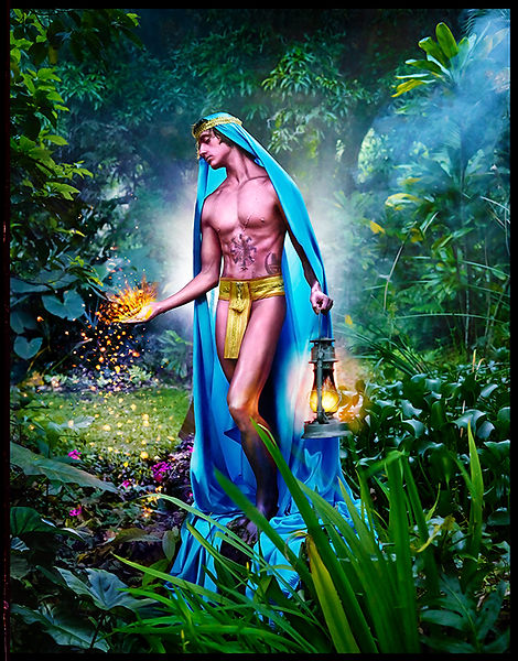 David LaChapelle, Sparks of Light, 2015