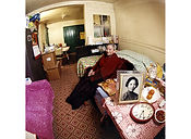 David LaChapelle, A Person Confined Indoors Due To Illness or Infirmity, Pell St., Chinatown, 2001