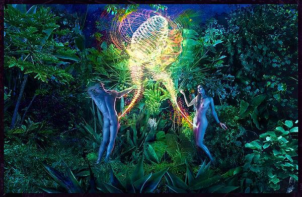 David LaChapelle, A New Adam A New Eve, 2017