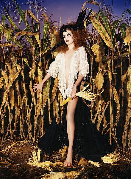 David LaChapelle, Untitled (Galliano: Corn), 1996