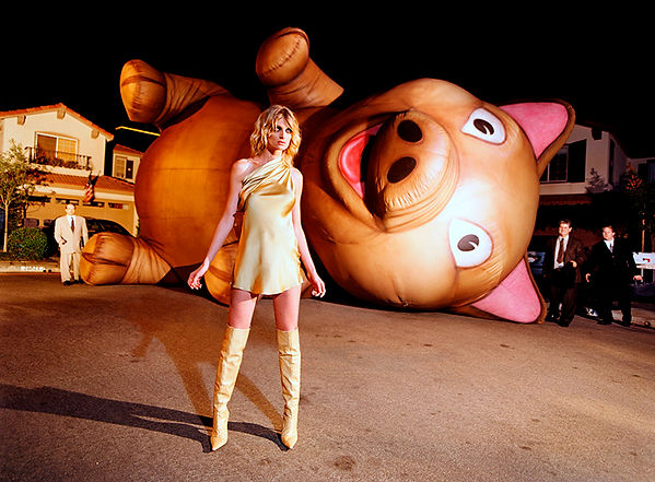 David LaChapelle, The Neighbors Are Pigs, 2002