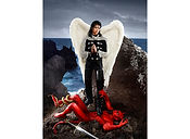 David LaChapelle, Archangel Michael: And No Message Could Have Been Any Clearer, 1990