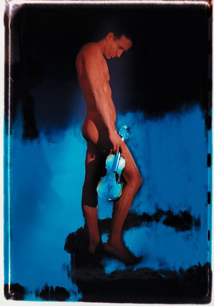 David LaChapelle, Silence, 1988