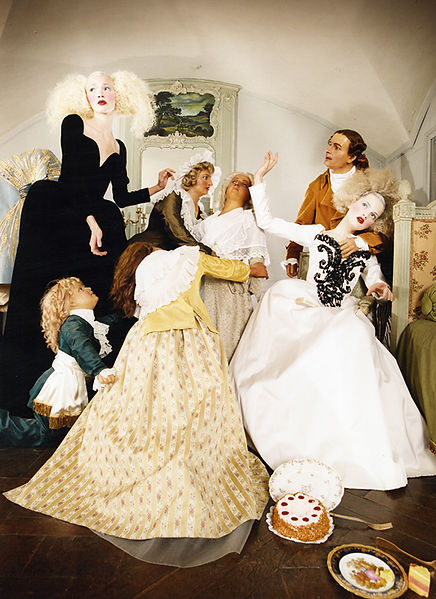 David LaChapelle, Untitled Image (French Vogue: Couture Story), 1995