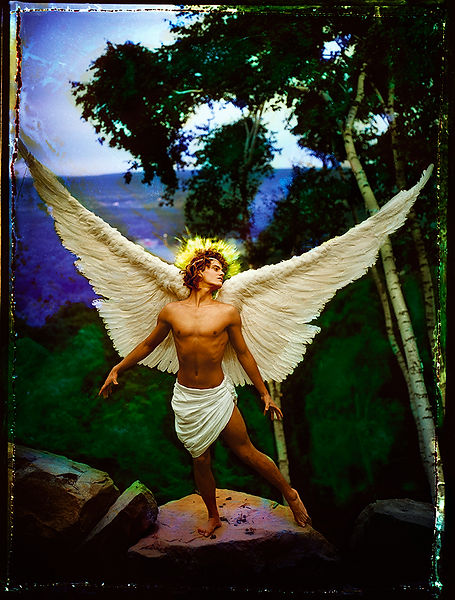 David LaChapelle, Archangel Uriel, 1985