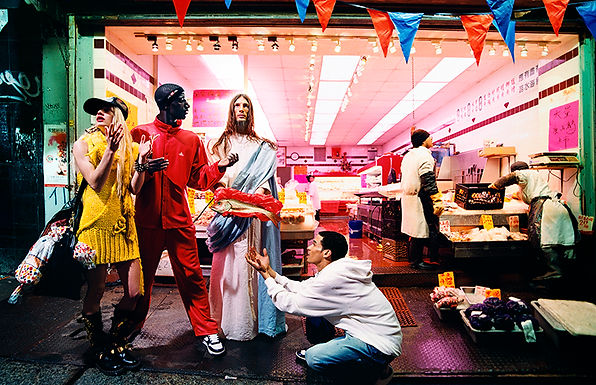 David LaChapelle, Loaves & Fishes, 2003