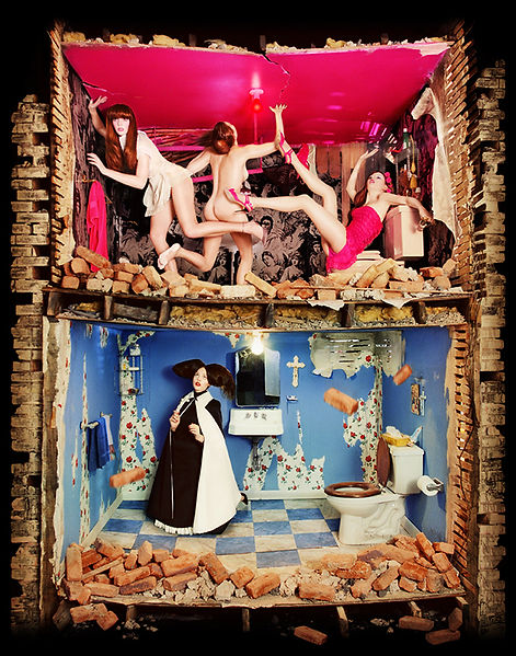 David LaChapelle, Saints and Sinners, 1999