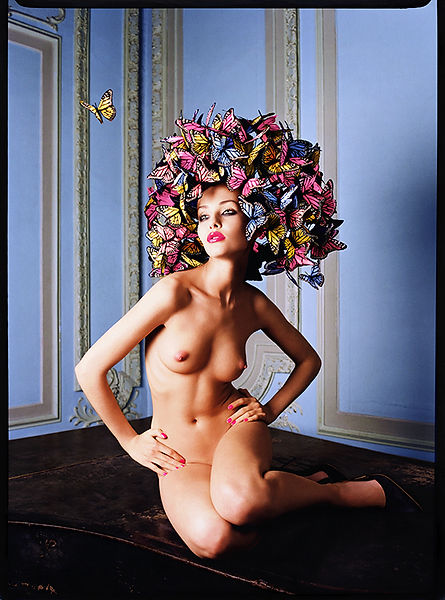 David LaChapelle, Nature's Naked Loveliness, 2003