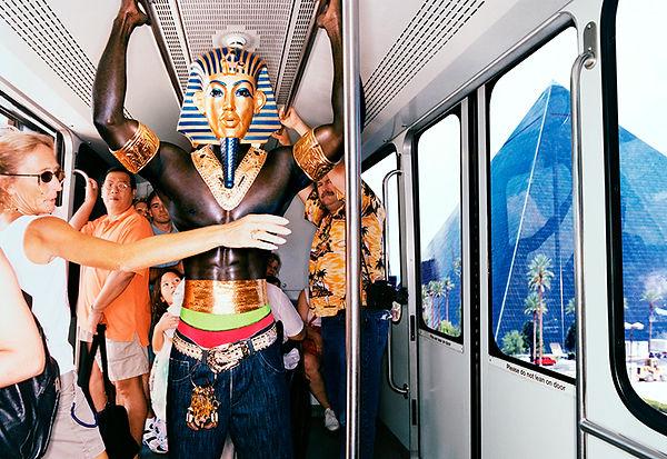 David LaChapelle, Tuntankhamen Monorail, Las Vegas, 2003