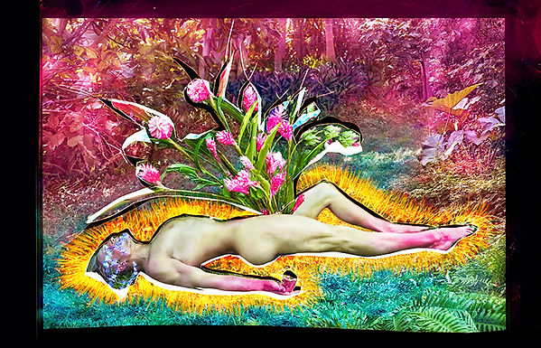 David LaChapelle, Flowers Grow, 2013