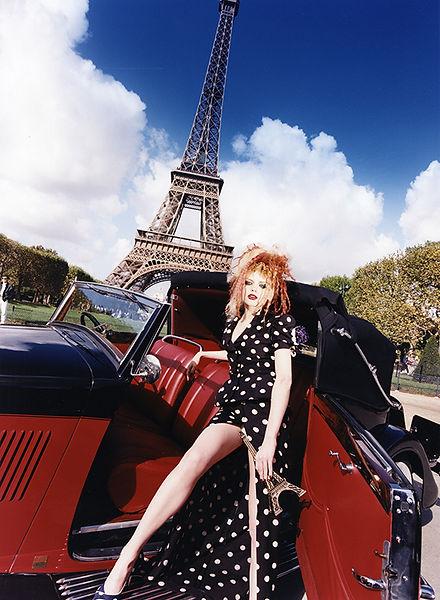 David LaChapelle, Untitled (Galliano: Eiffel Tower), 1996