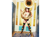 David LaChapelle, Intoxicated 15 Year Old with Tuba in Paris, 1996