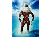 David LaChapelle, Man With Diving Bell andShoe, 1995
