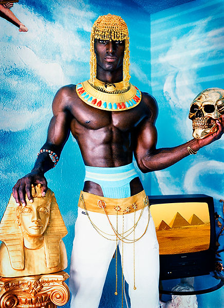 David LaChapelle, Egypt/Africa, 2003