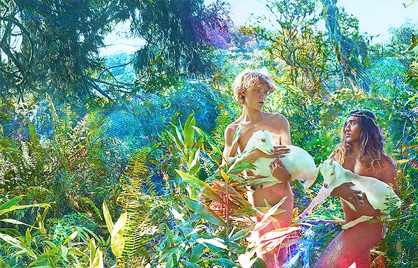 David LaChapelle, On Eath as it is in Heaven, 2015
