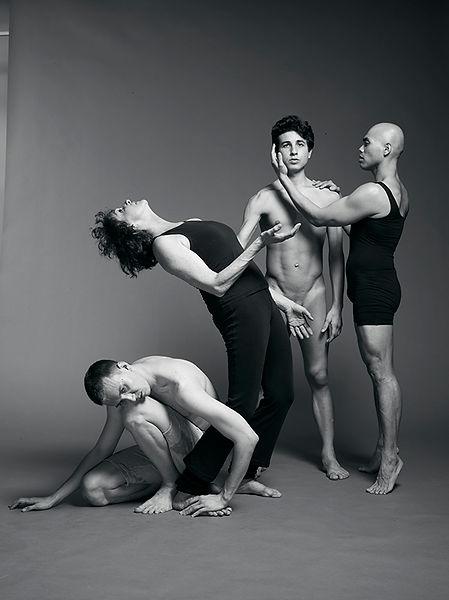 David LaChapelle, Untitled (Transcending Form: Ryan, Debra, Vincent and Rob), 2011