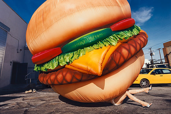 David LaChapelle, Death By Hamurger, 2001