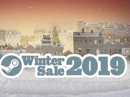 剁手行动开始!Steam冬季特卖会正式开跑:《DMC5》、《MHW》等大作迎新史低价!
