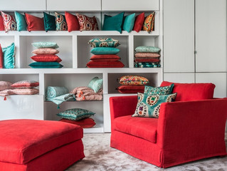 Élitis | Red and Turquoise!