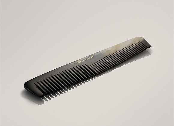 Large Cow Horn Double Tooth Comb
