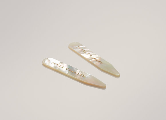 Mother Of Pearl Collar Stiffeners