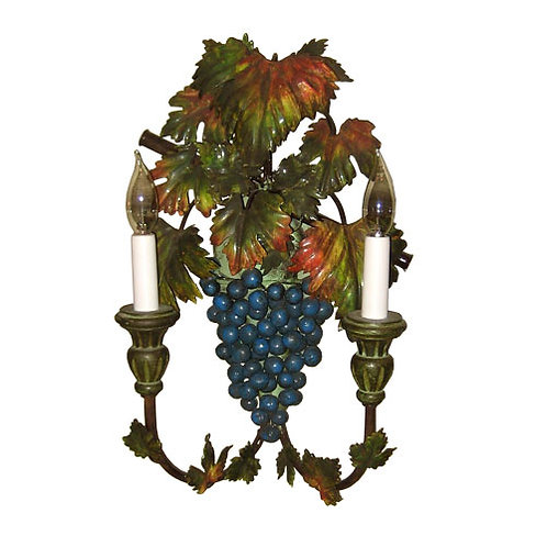 Sconce - Grapes