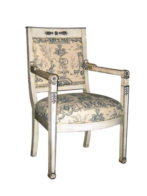Accent Chair - Pattern Fabric