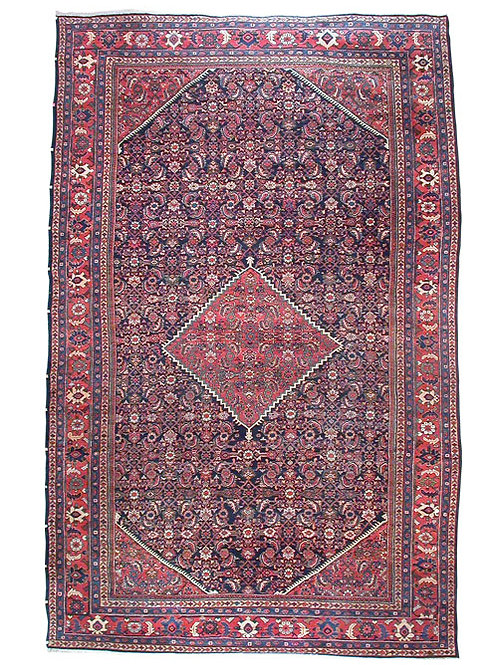 Antique Persian Mahal 11x17.3