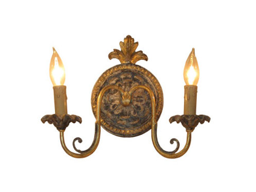 Sconce - Wood