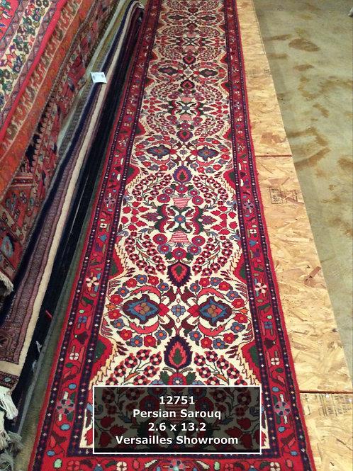 Persian Sarouq Runner - 12'