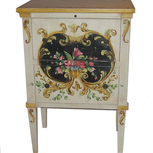 Table - Painted Nightstand