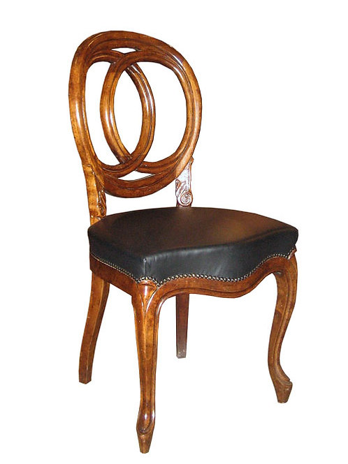 Dining Chair - Leather Seat