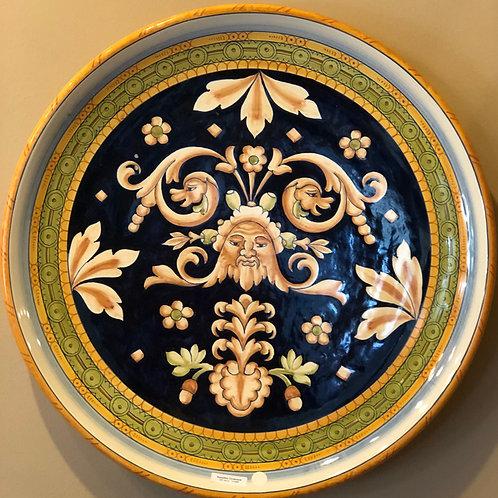 Florentine Ceramic Plate