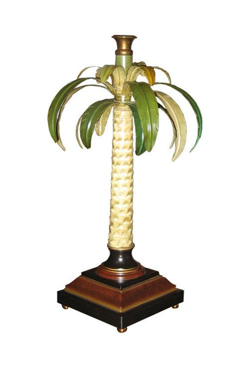 Lamp - Metal Palm Tree
