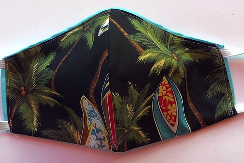 Long Boards and Palms-Reversible